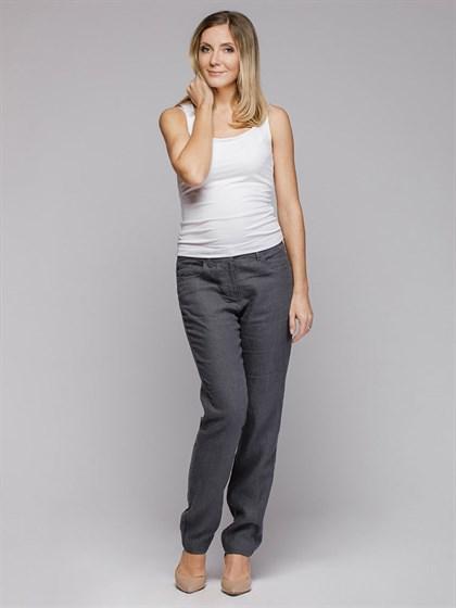 Льняные брюки - фото 41189
