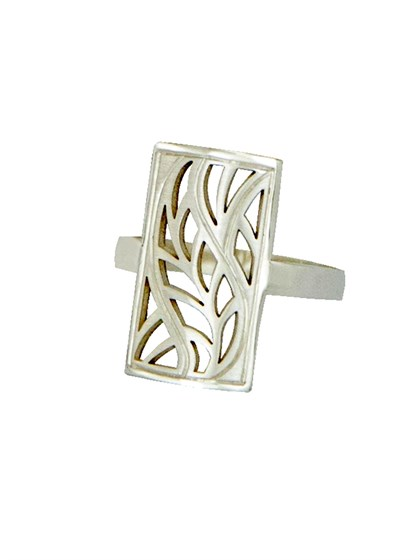 Кольцо из серебра - фото 41343