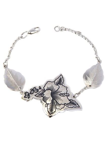 Браслет серебряный Розанель - фото 41467