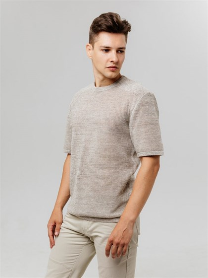 Джемпер мужской с коротким рукавом - фото 43098