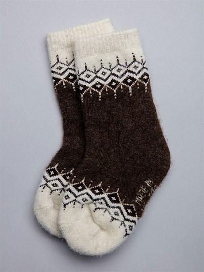 Носки детские из монгольской шерсти - фото 43907
