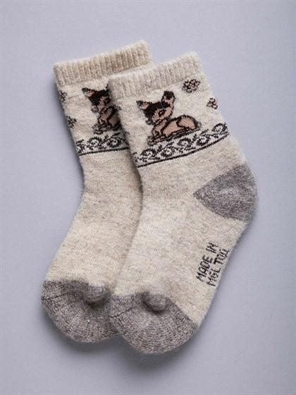 Носки детские из монгольской шерсти - фото 43909