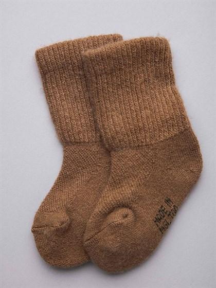 Носки детские из монгольской шерсти - фото 43948