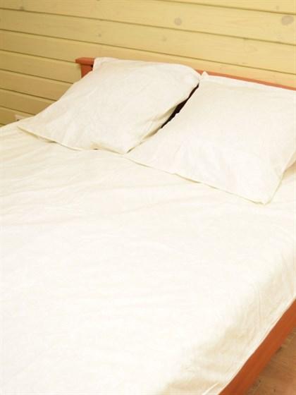 Постельное белье 2-спальный из льна - фото 44383
