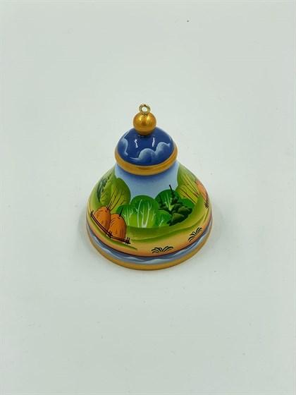 Декоративный колокольчик большой (пейзаж) - фото 45084