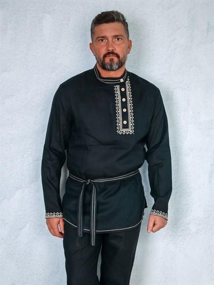 Рубашка мужская в русском стиле - фото 47048