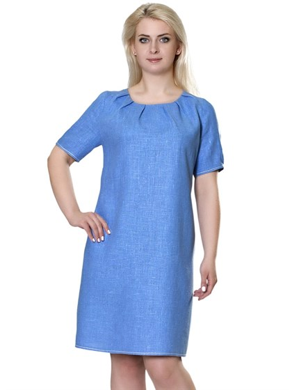 Платье изо льна - фото 47054