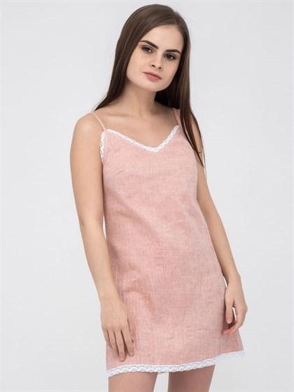 Ночная сорочка с кружевом - фото 49592