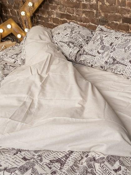Постельное белье Двуспальный из льна - фото 53820
