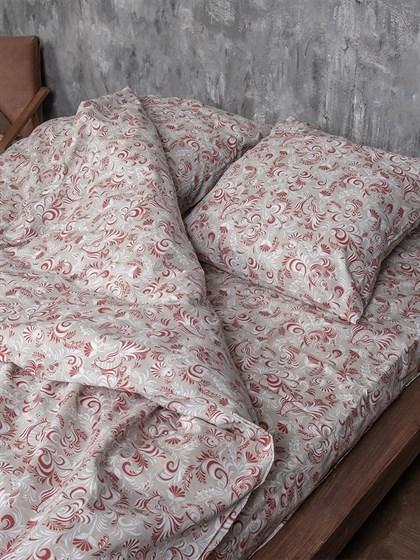 Постельное белье 2-спальный льняной - фото 53911