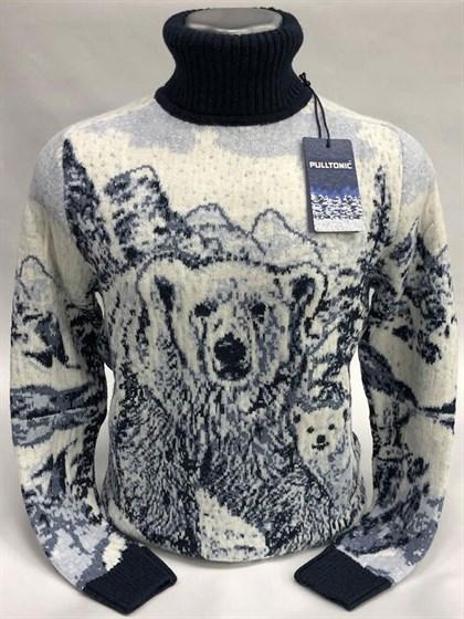 Свитер Снежный медведь - фото 56200