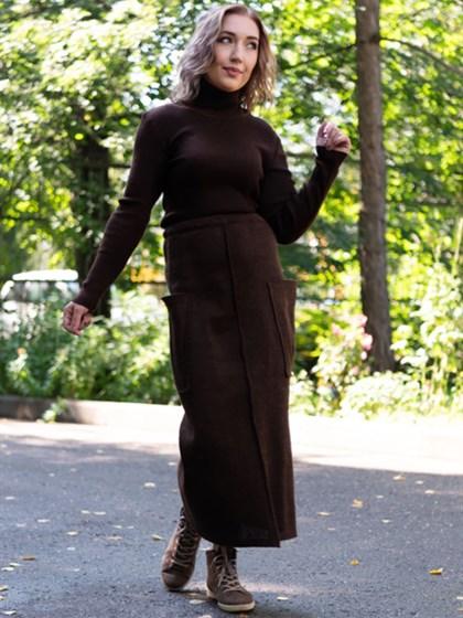 Юбка женская трикотажная - фото 57550