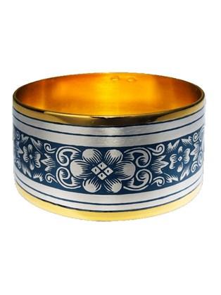Кольцо салфеточное серебряное