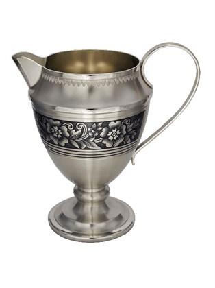 Молочник серебряный