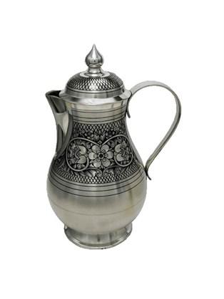 Кофейник серебряный
