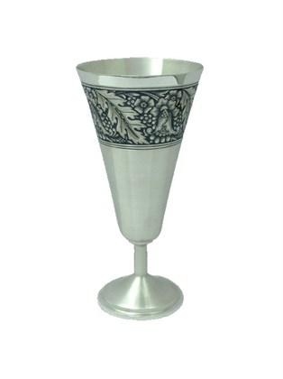 Бокал серебряный для шампанского