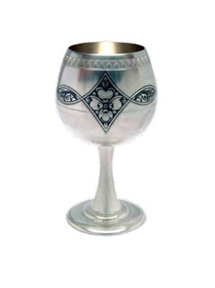 Рюмка серебряная для вина