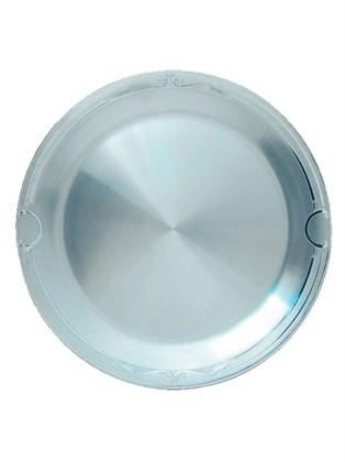 Серебряная тарелка для закусочных блюд