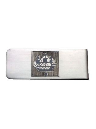 Зажим серебряный для банкнот