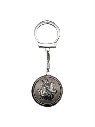 Брелок серебряный для ключей