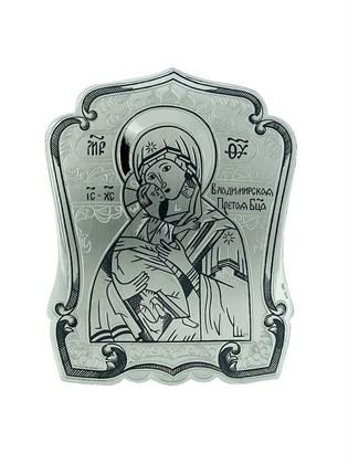 """Икона серебряная """"Владимирская"""""""