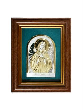 Икона серебряная Святой Ангел Хранитель