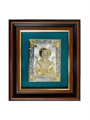 Икона серебряная Неупиваемая Чаша