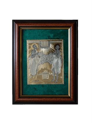 Икона серебряная Прокопий Праведный