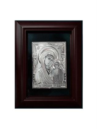 Икона серебряная Казанская Пресвятой Богородицы