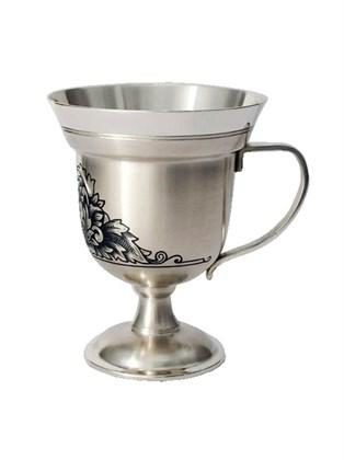 Серебряная чашка для кофе