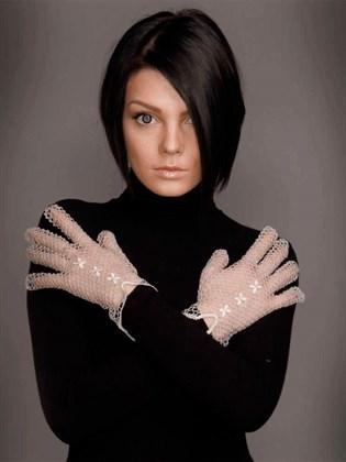 Перчатки кружевные