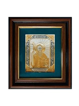 Икона серебряная Андрей Первозванный