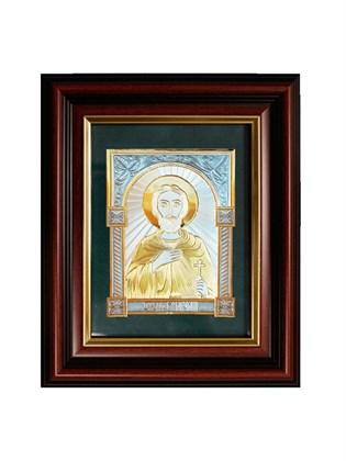 Икона серебряная Святой мученик Анатолий