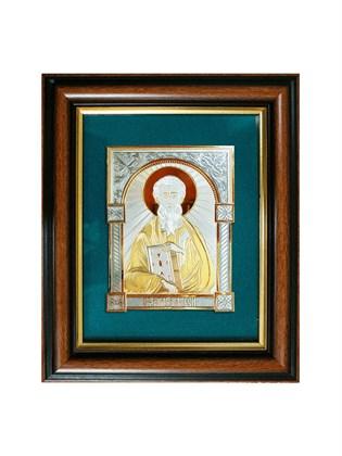 Икона серебряная Святой Апостол Матвей