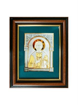 Икона серебряная Благоверный князь Роман Рязанский