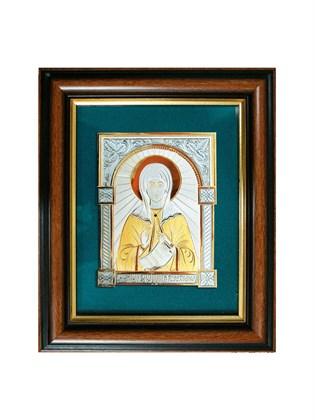 Икона серебряная Святая мученица Фотина (Светлана)