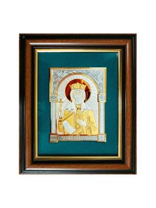 Икона серебряная Святая равноапостольная царица Елена