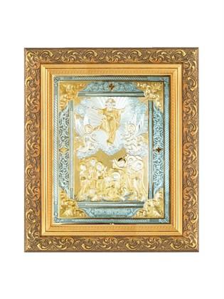 Икона серебряная Вознесение Господне
