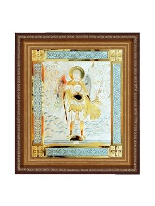 Икона серебряная Архангел Михаил