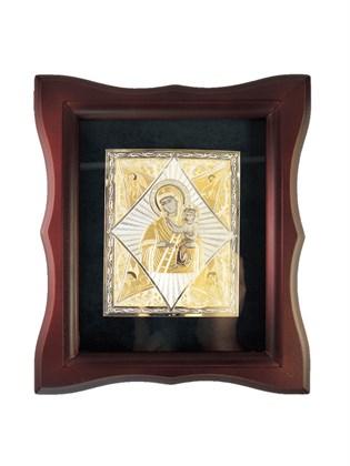 Икона серебряная Неопалимая Купина