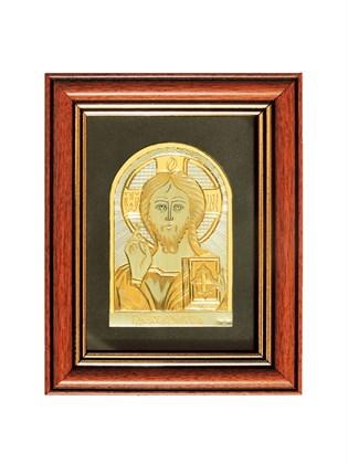 Икона серебряная Господь Вседержитель