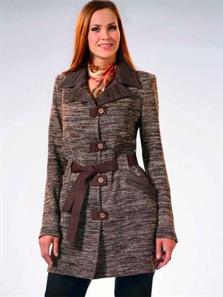 Пальто льняное