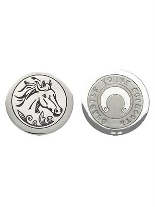 """Монета сувенирная """"Год лошади"""" из серебра"""