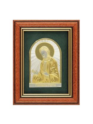 Икона серебряная Иоанн Предтеча
