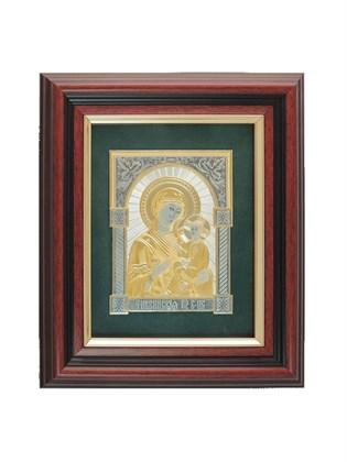 Икона серебряная Пресвятой Богородицы Тихвинская
