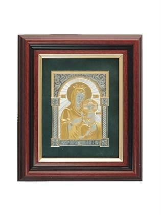 Икона серебряная Пресвятой Богородицы Скоропослушница