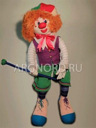 """Игрушка ручной работы """"Клоун"""""""