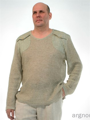 Джемпер льняной