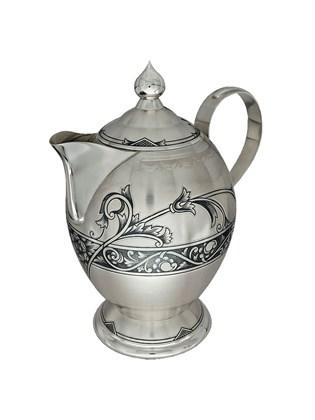 Чайник серебряный