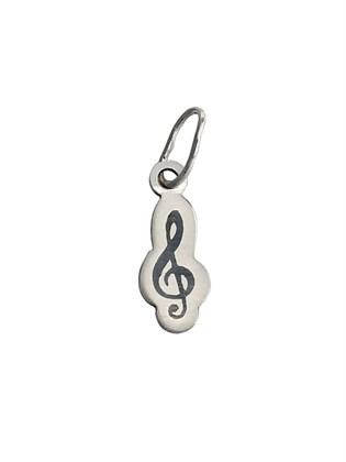"""Подвеска из серебра """"Скрипичный ключ"""""""